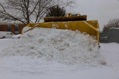 professional snow removal in Boston