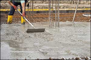 concrete flatwork and curbing