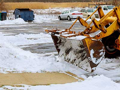 snow removal in Boston